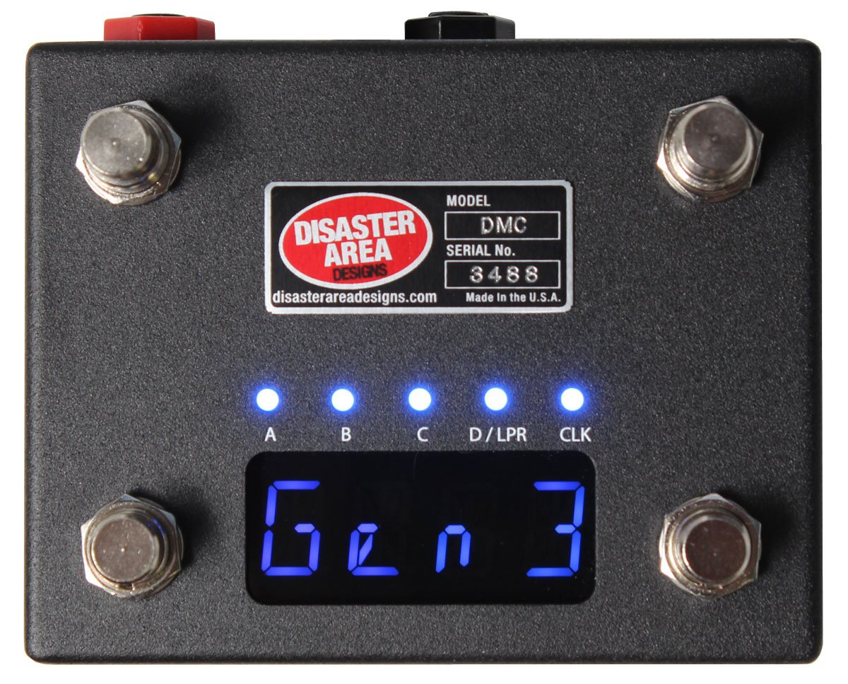 Disaster Area DMC-4 Gen3 - Pedal on ModularGrid