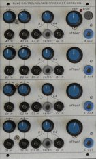 Buchla Module Quad Control Voltage Processor Model 254e from Studio H