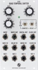 Eurorack Module E102 Quad Temporal Shifter from Synthesis Technology