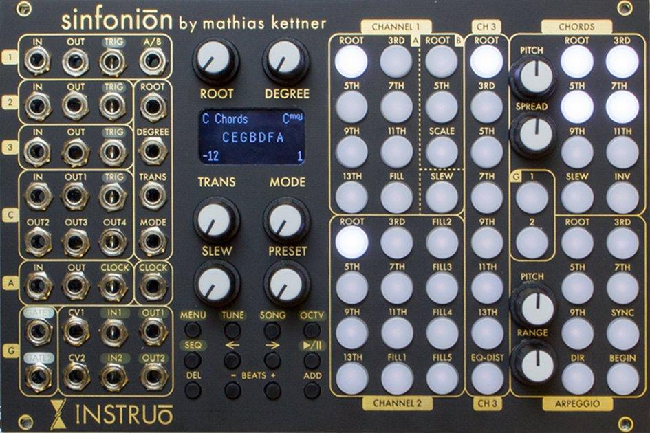 Instruō Sinfonion - Eurorack Module on ModularGrid