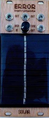 Error Instruments Solar theremin WOOD ! - Eurorack Module on