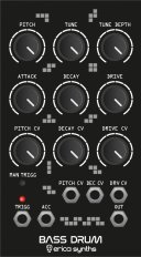 Eurorack Module Bass Drum from Erica Synths