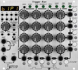 Eurorack Module Trigger Riot from Tiptop Audio