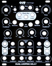 Dual Looping Delay - Black Panel