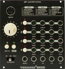 quad MIDI Interface (qMI)