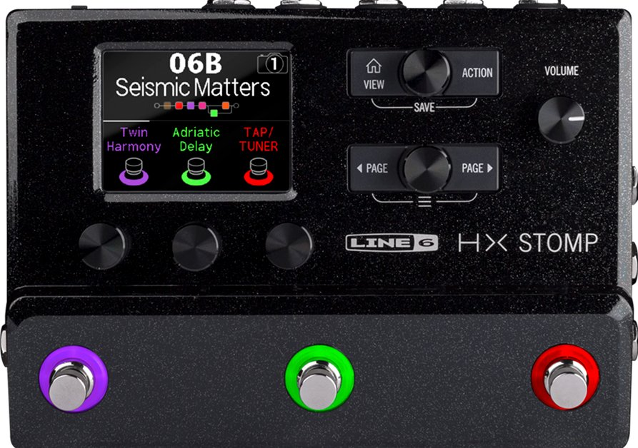 Line 6 HX Stomp Multi-Effects Guitar Pedal