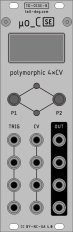 Eurorack Module µo_C SE (uo_C, Ornament & Crime) [Rev B, Silver] from Tall Dog