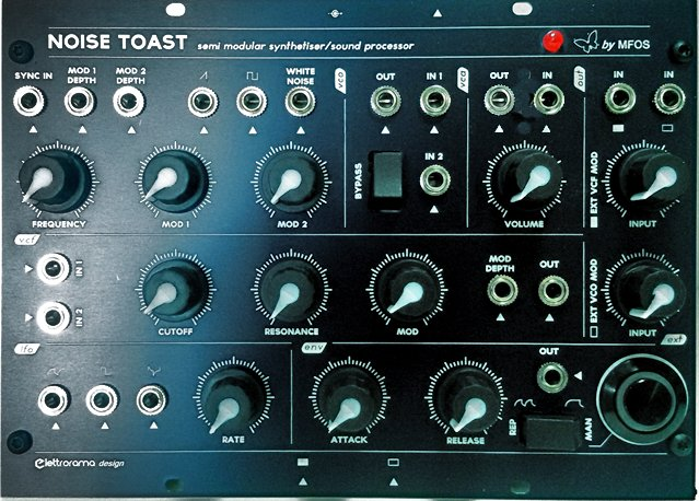 MFOS Noise Toaster semimodular synth /& sound processor