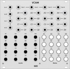 4ms VCA Matrix VCAM (Grayscale panel)