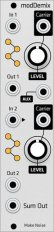 Make Noise modDemix (Grayscale panel)