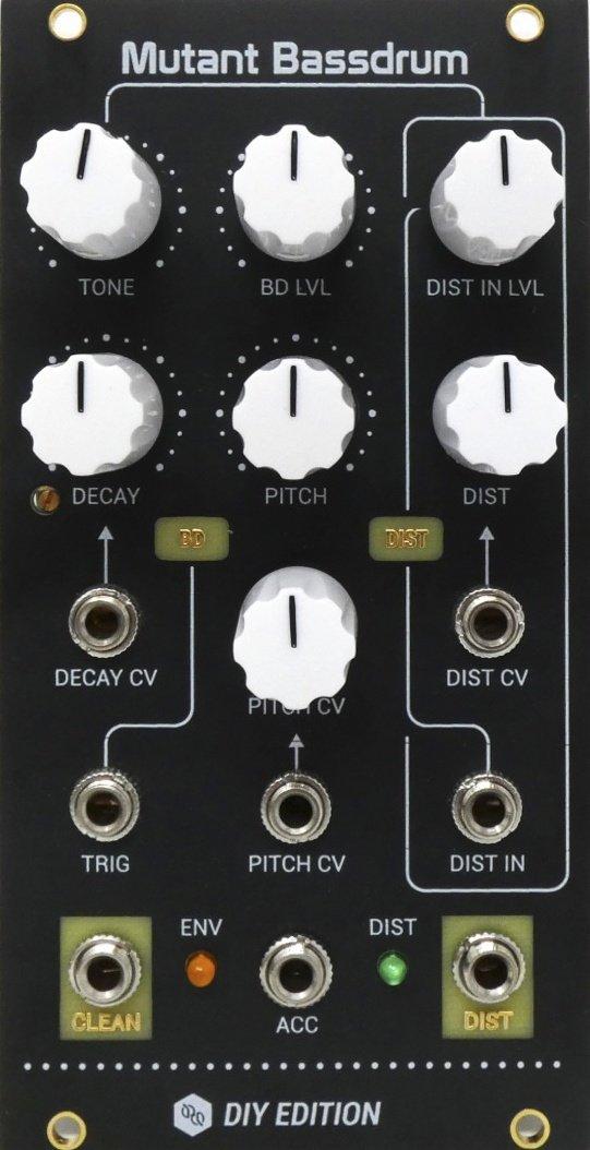 Hexinverter Électronique Mutant Bassdrum DIY - Eurorack