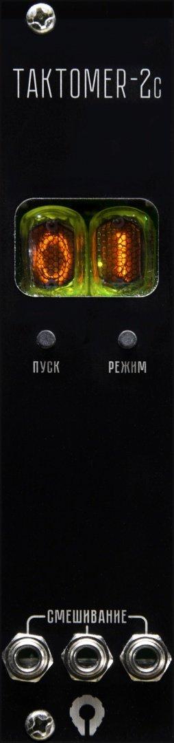 Paratek ТАКТОМЕR-2c black - Eurorack Module on ModularGrid