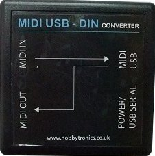 Other/unknown HobbyTronics MIDI USB-to-DIN Converter - Pedal