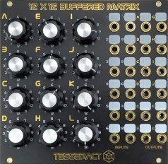 Eurorack Module 12x12 Buffered Matrix from Tesseract Modular