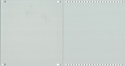 FleXi blind panel - SILVER - L (24 - 48HP)