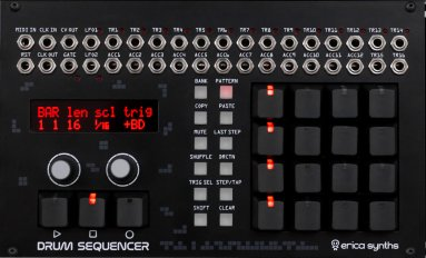 Drum Sequencer with Black Keys
