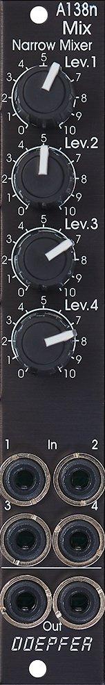 Doepfer A-138nV Narrow Mixer Vintage Edition