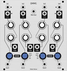 Make Noise QMMG (Grayscale panel)