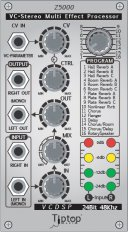 Z5000 Voltage Controlled Stereo Multi Effect Processor