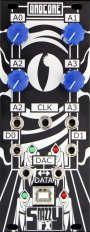Eurorack Module ArdCore  silver faceplate from Snazzy FX