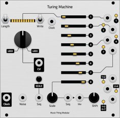 Turing Machine - Grayscale Hybrid Panel