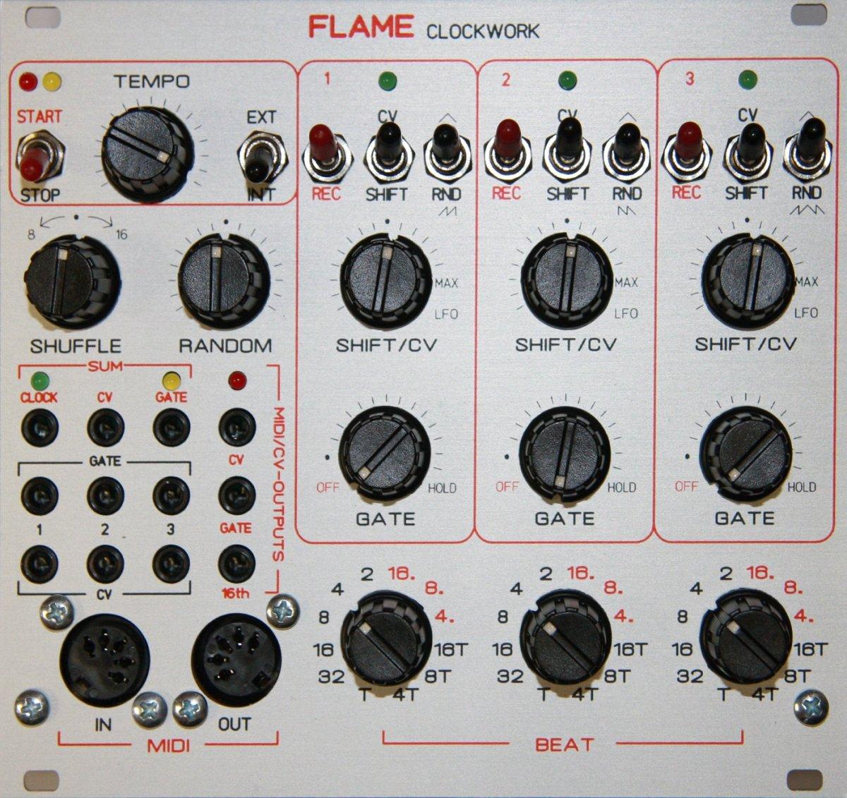 Flame C3 MkII Knob Recorder Module