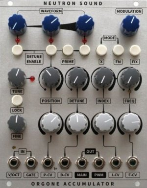 neutron sound orgone accumulator diy eurorack module on modulargrid. Black Bedroom Furniture Sets. Home Design Ideas