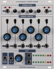6 Channel Stereo Mixer