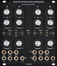 Eurorack Module Fluctuations Magnétiques from Eowave