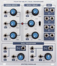 Four Tap Delay / Dual Crossfader