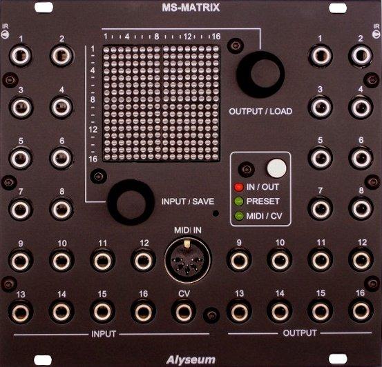 Alyseum MS-MATRIX - Eurorack Module on ModularGrid