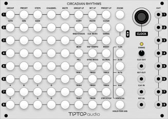Tiptop Audio Circadian Rhythms (Grayscale Panel)