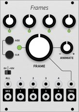 Mutable Instruments Frames (Grayscale panel)
