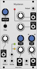 Make Noise Mysteron (Grayscale panel)