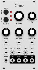 Mutable Instruments Sheep (Grayscale panel)
