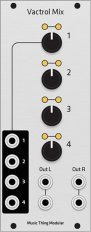 Turing Machine Vactrol Mix Expander