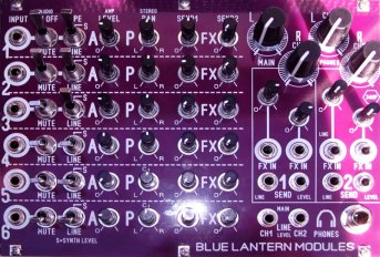 BMX 6Channel Stereo Mixer DIY