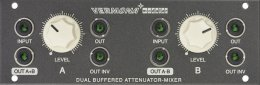 Dual buffered Attenuator / Mixer (1U Tile)