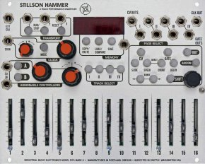 Eurorack Module Stillson Hammer mkII from The Harvestman