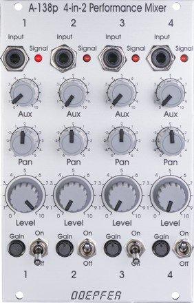 Doepfer A-138PV Performance Mixer Input Vintage Edition