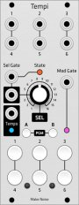 Make Noise Tempi (Grayscale panel)