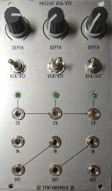 Other/unknown Passive VCA/VCF - Eurorack Module on ModularGrid