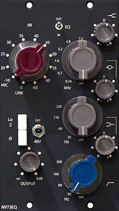 the DON classics NV73 + NV73EQ ADDON - 500 Series Module on