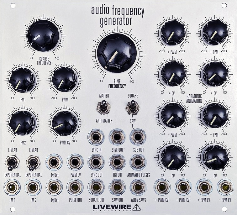 Audio Frequency Generator : Livewire electronics audio frequency generator afg