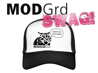 ModularGrid Swag on the Spreadshirt shop