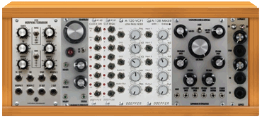 plan your modular synthesizer rack on modulargrid
